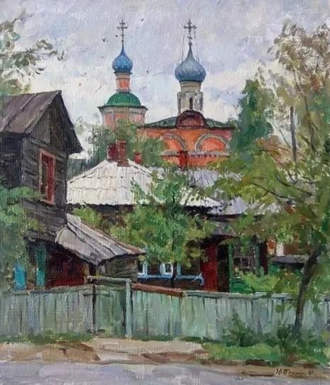 художник Юрий Пантюхин картины – 25