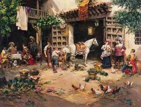 художник Антонио Медина Серрано (Antonio Medina Serrano) картины – 16