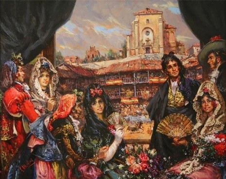 художник Антонио Медина Серрано (Antonio Medina Serrano) картины – 17