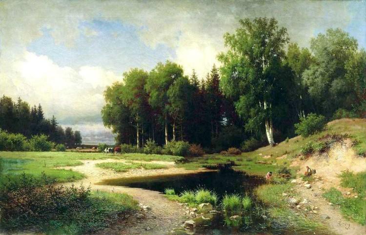 художник Лев Каменев картины – 03
