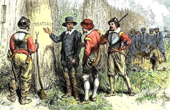 """Тайна исчезнувшей колонии """"Кроатон"""". Кроатоан, Британские колонии, Длиннопост"""