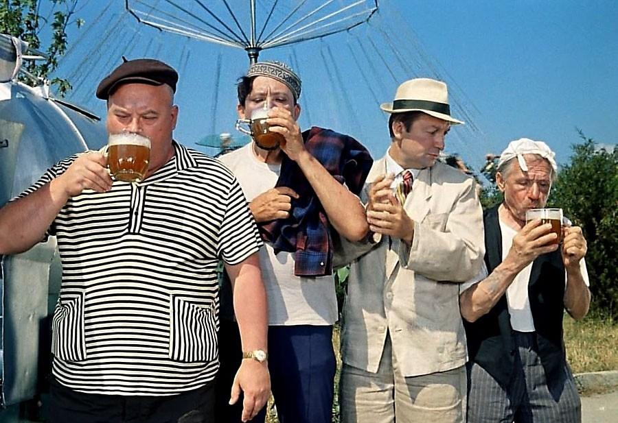 Пиво в советских фильмах