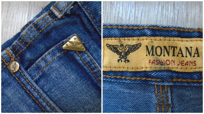 Оригинальные джинсы отличались высоким качеством материала и фурнитуры / Фото: meshok.net