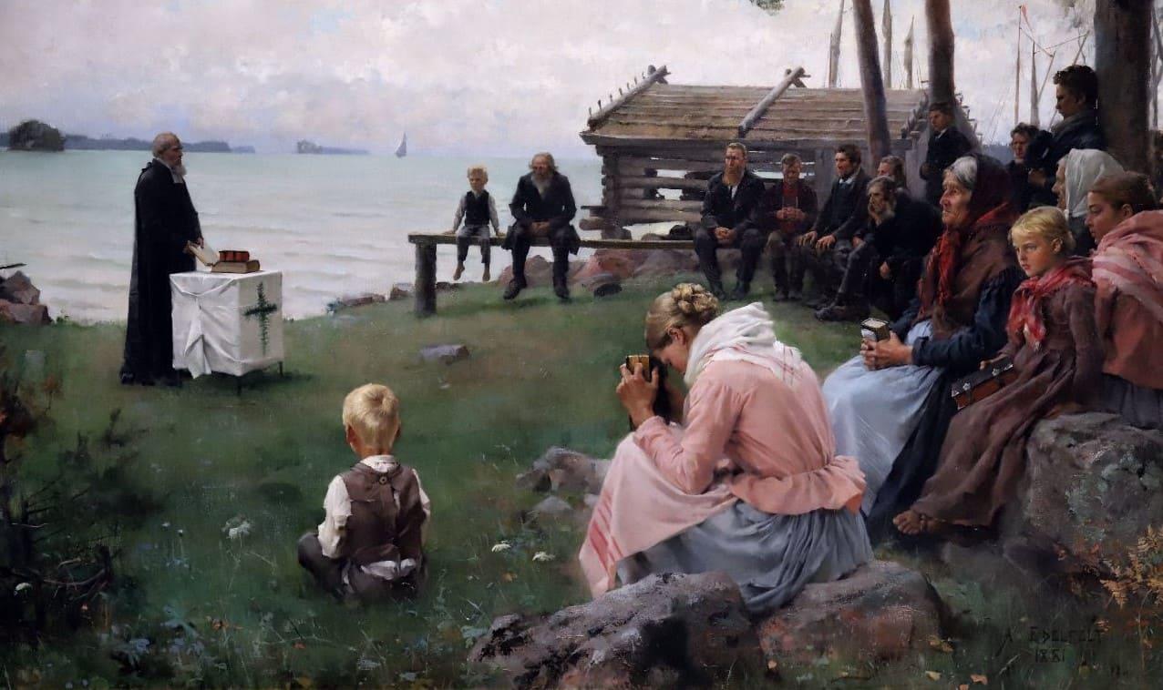 Художник Albert Edelfelt (1854 – 1905)
