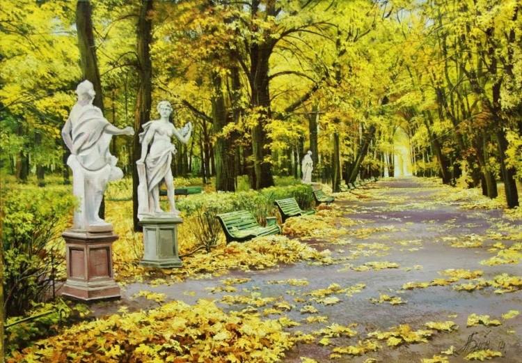 Художник Александр Былич. Романтические пейзажи. Величественная тихая красота в каждой картине художника