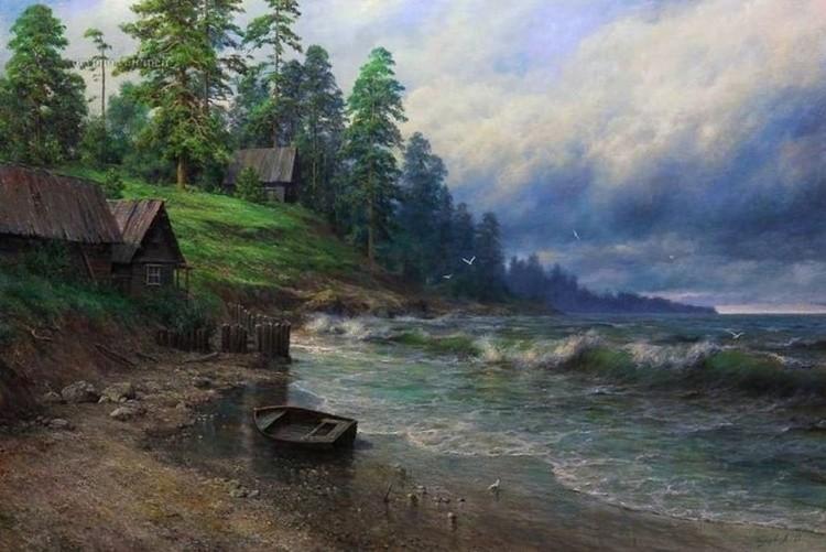 художник Андрей Огурцов картины – 01