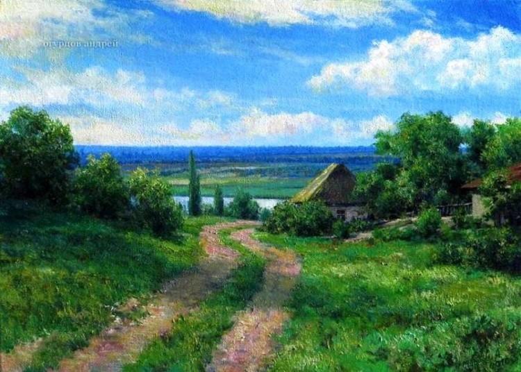 художник Андрей Огурцов картины – 02
