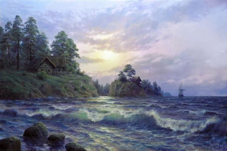художник Андрей Огурцов картины – 11