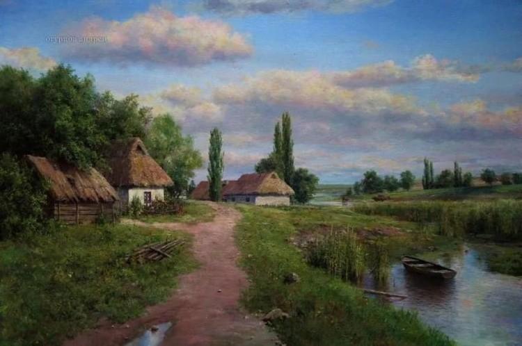 художник Андрей Огурцов картины – 16