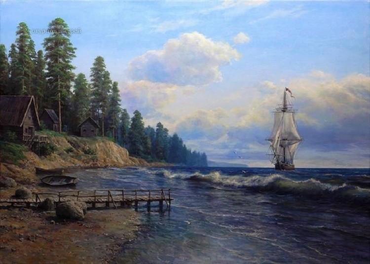 художник Андрей Огурцов картины – 21