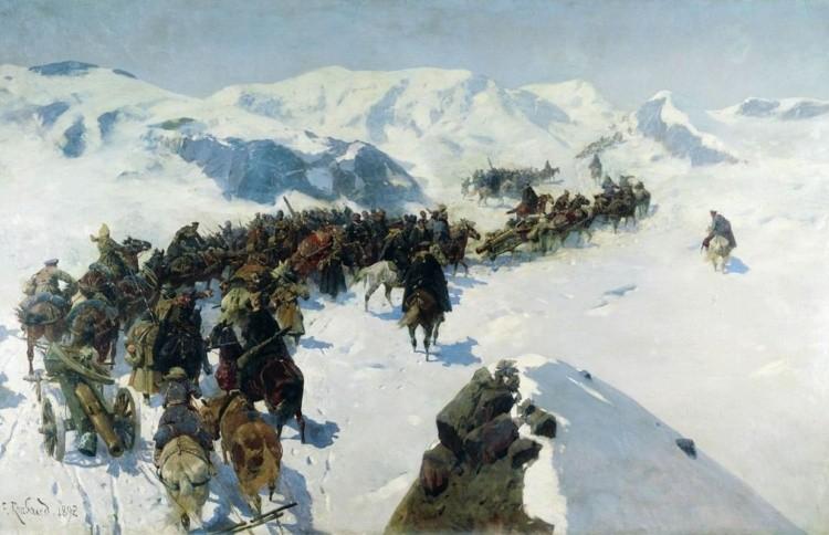 художник Франц Рубо картины – 03
