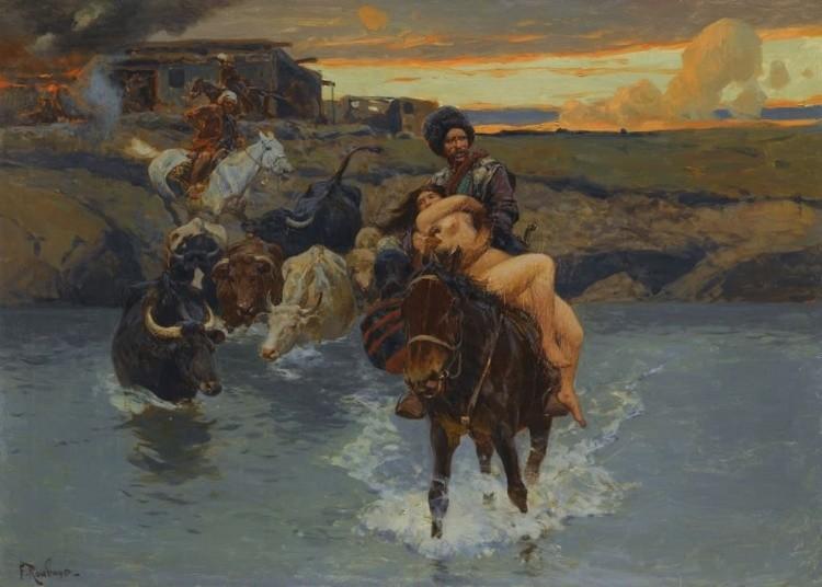 художник Франц Рубо картины – 11