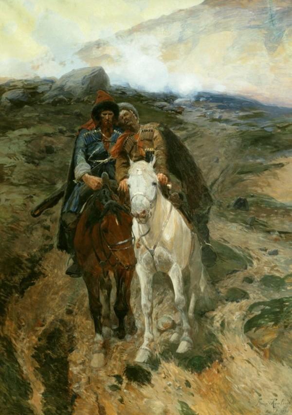 художник Франц Рубо картины – 18