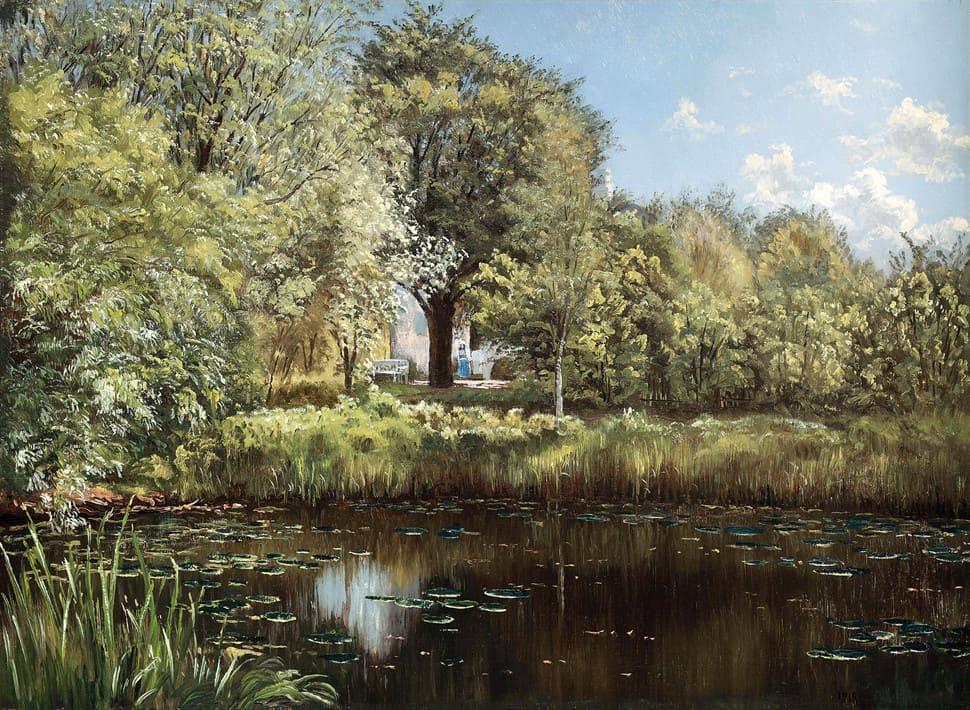 Художник Henri Biva (1848 – 1929). Сказочный лес