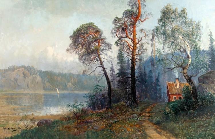 художник Johan (John) Kindborg (Йон Киндборг) картины – 13