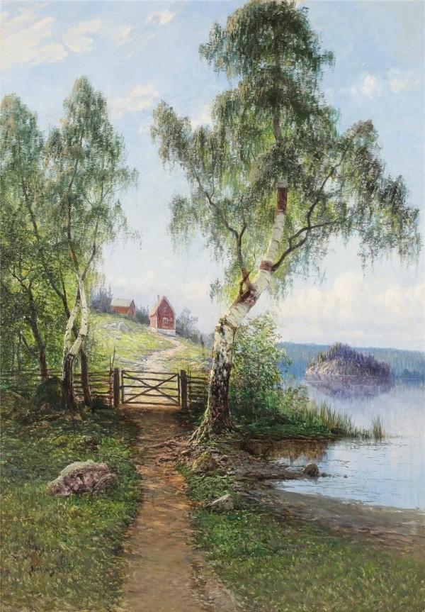 художник Johan (John) Kindborg (Йон Киндборг) картины – 17