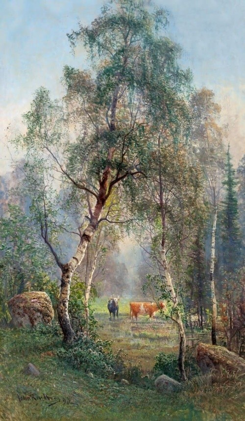 художник Johan (John) Kindborg (Йон Киндборг) картины – 19