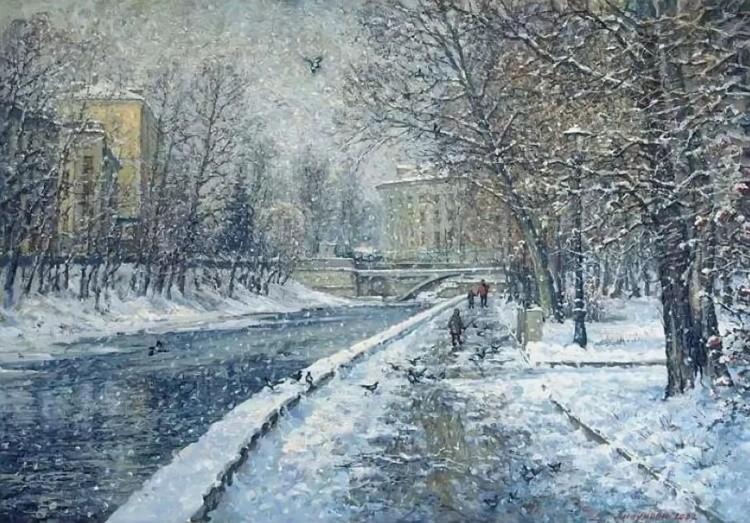 картины художников Игоря и Ольги Липуновых – 01