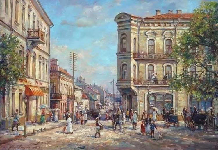 картины художников Игоря и Ольги Липуновых – 02