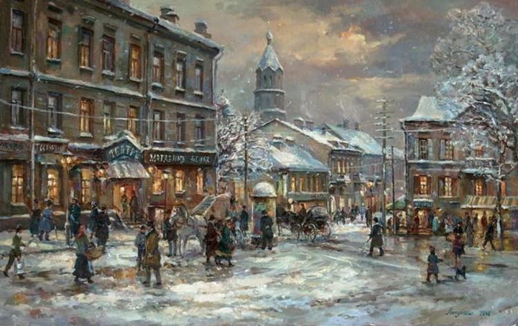картины художников Игоря и Ольги Липуновых – 05