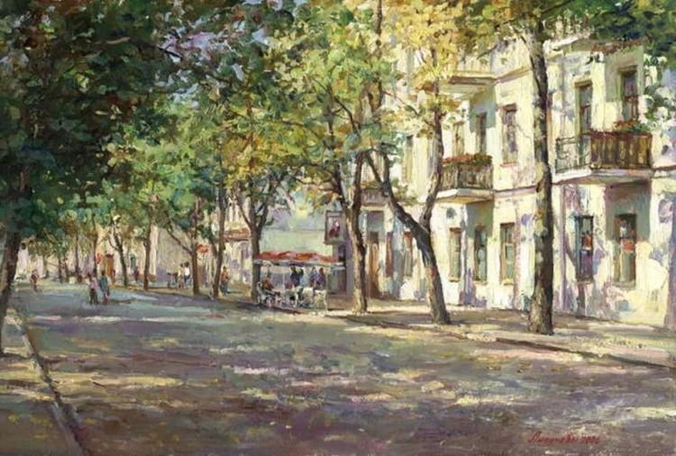 картины художников Игоря и Ольги Липуновых – 11
