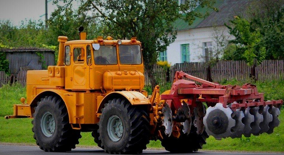 Трактор Кировец К-700А, наше время