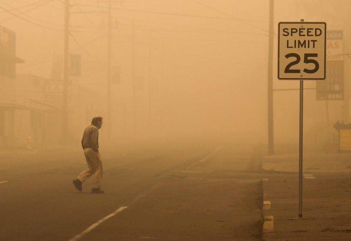 После пожаров в Калифорнии (фотографии)