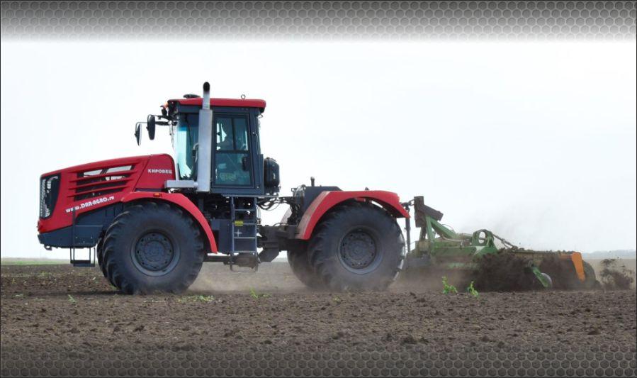 Трактор К-742