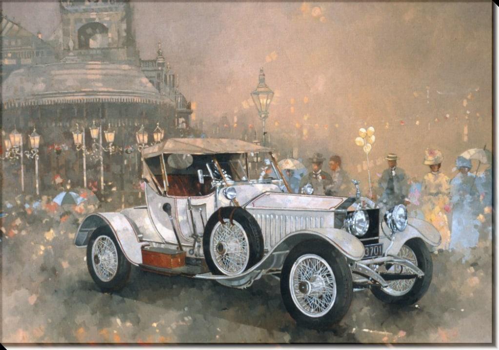 """""""Пока ждет автомобиль"""" рассказ. Автор О. Генри."""
