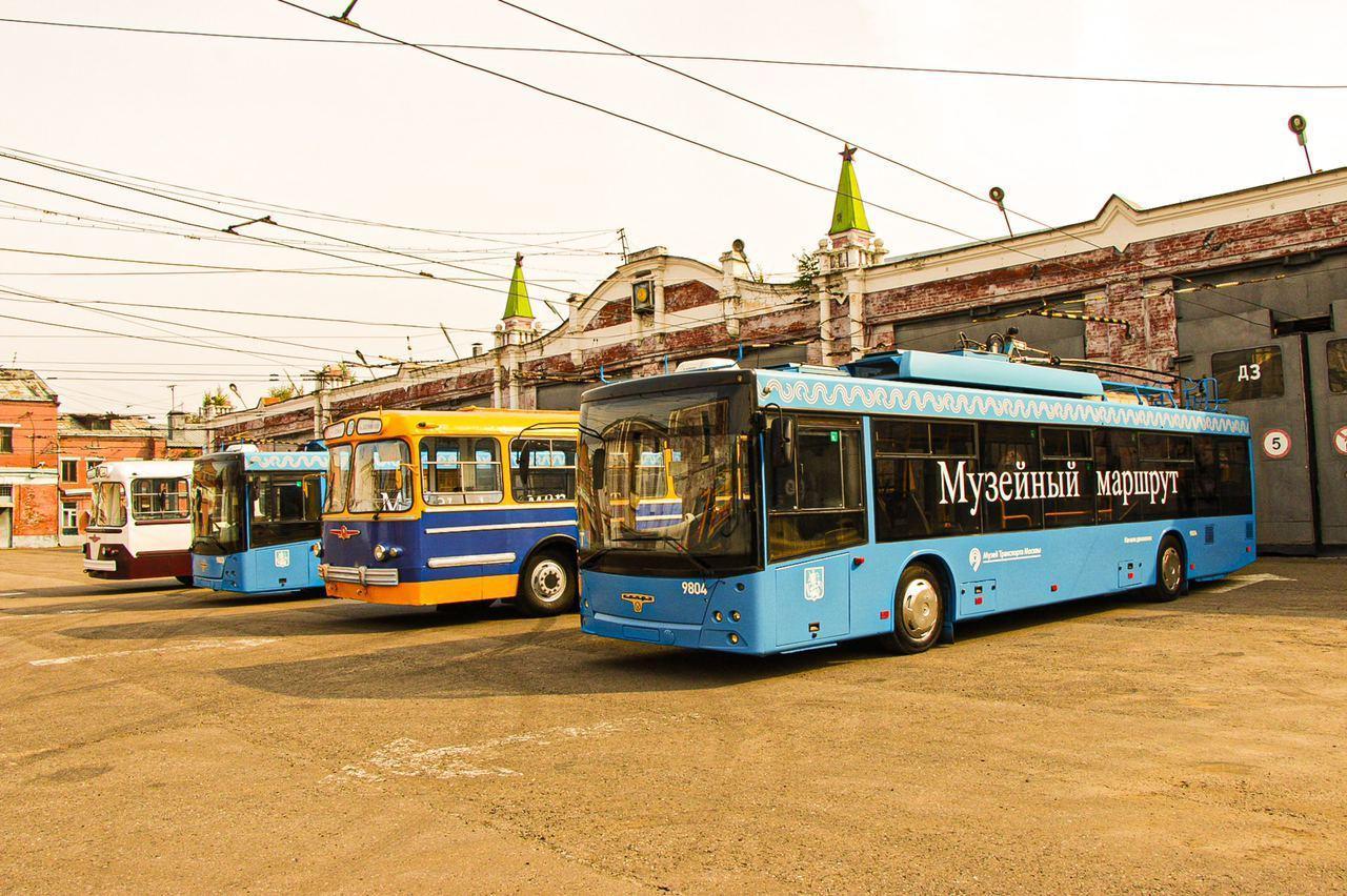 Ностальгия по московскому троллейбусу