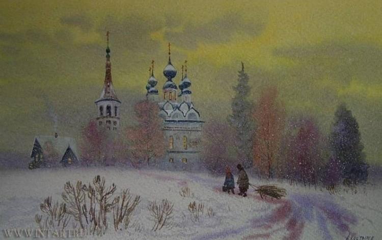художник Артур Костылев картины – 02