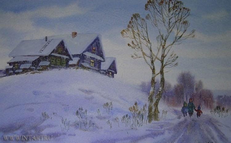 художник Артур Костылев картины – 05