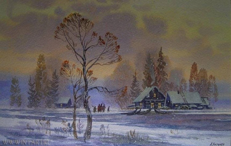 художник Артур Костылев картины – 07