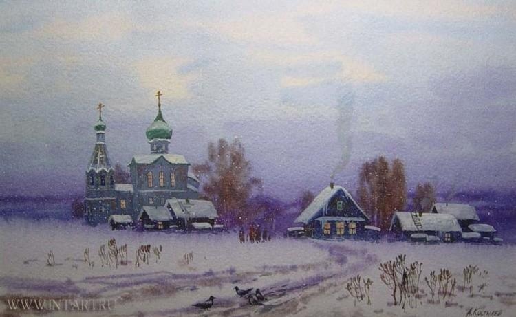 художник Артур Костылев картины – 15