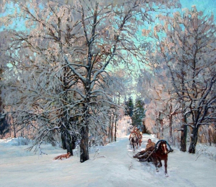 художник Артур Костылев картины – 17