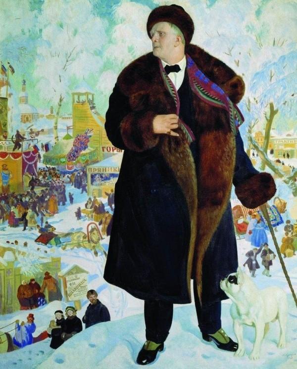 художник Борис Кустодиев картины – 14