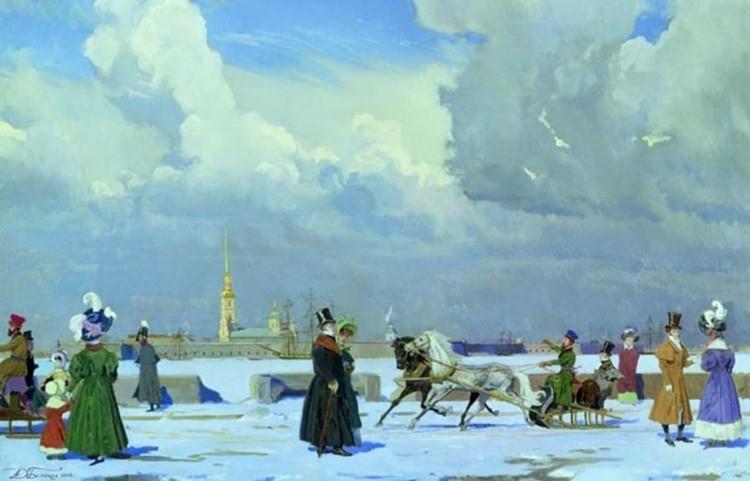 художник Дмитрий Белюкин картины – 10
