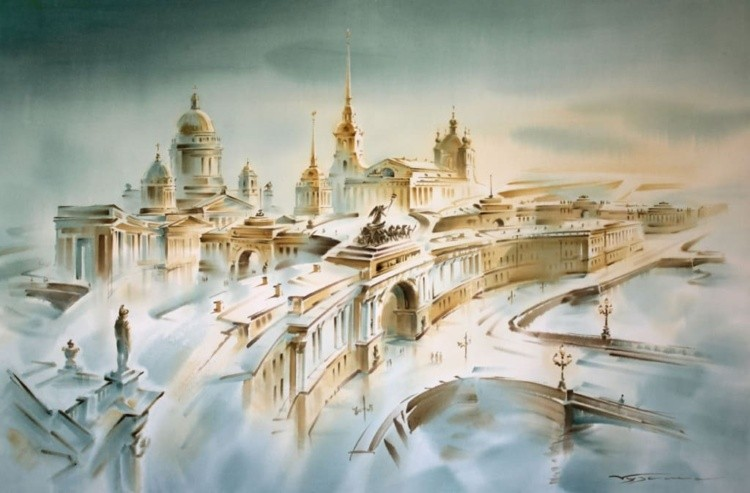 художник Константин Кузема картины – 01