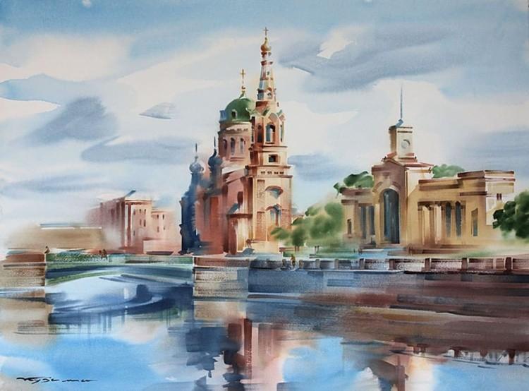 художник Константин Кузема картины – 07