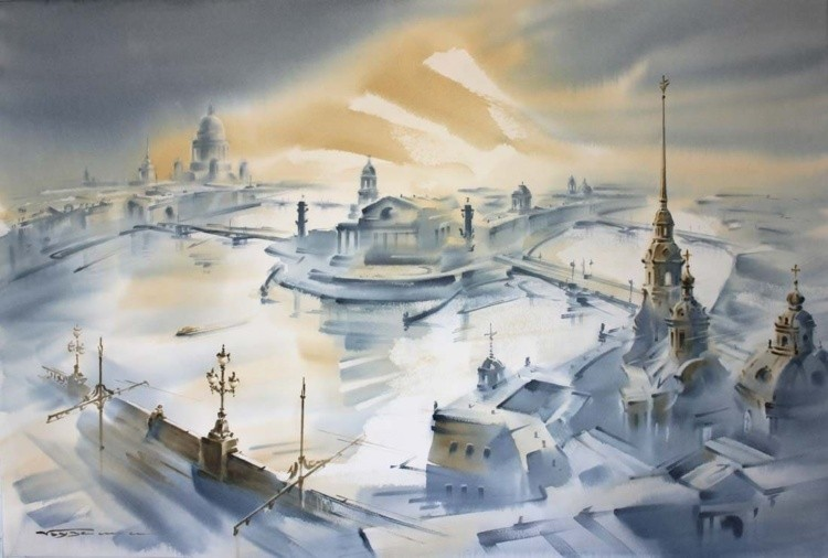 художник Константин Кузема картины – 11
