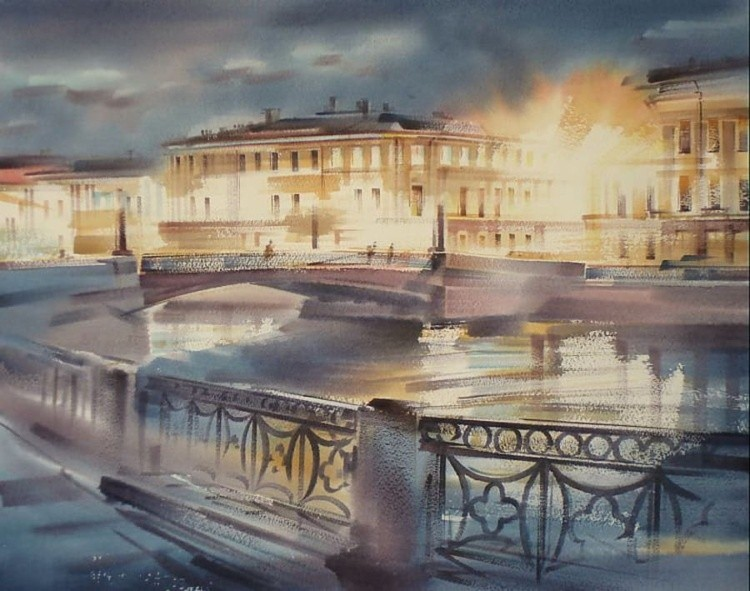 художник Константин Кузема картины – 12
