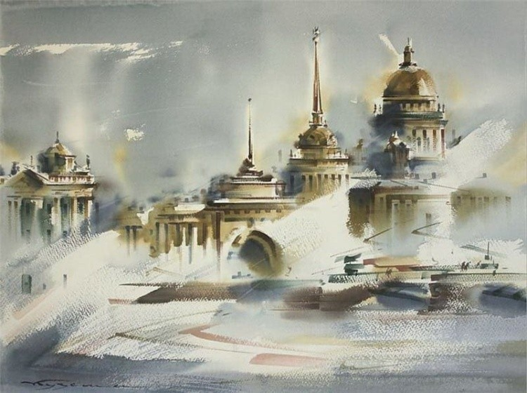 художник Константин Кузема картины – 18