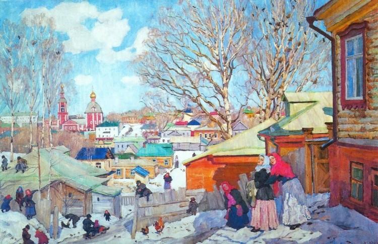 художник Константин Фёдорович Юон картины – 09