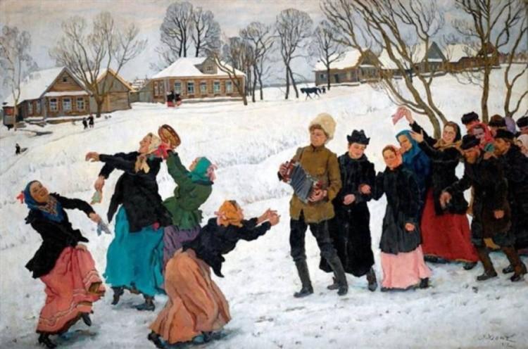 художник Константин Фёдорович Юон картины – 10