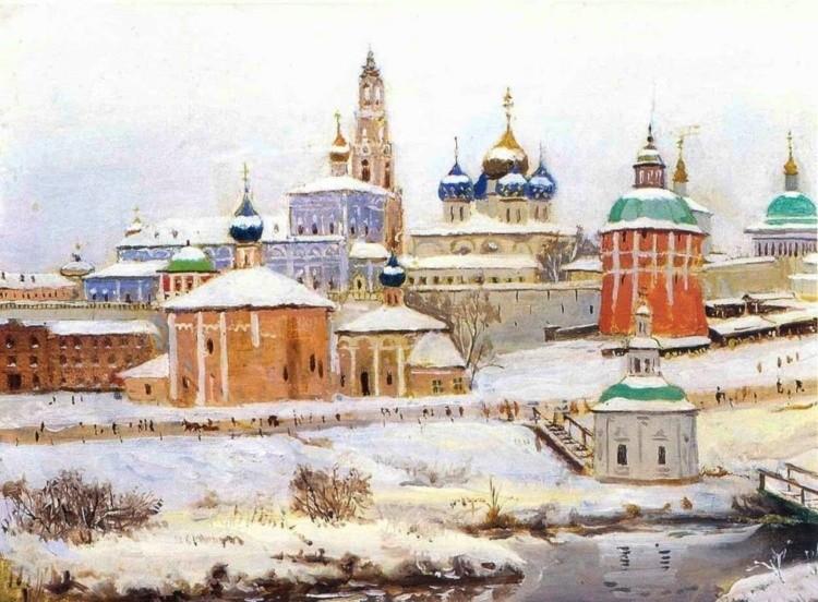 художник Константин Фёдорович Юон картины – 11