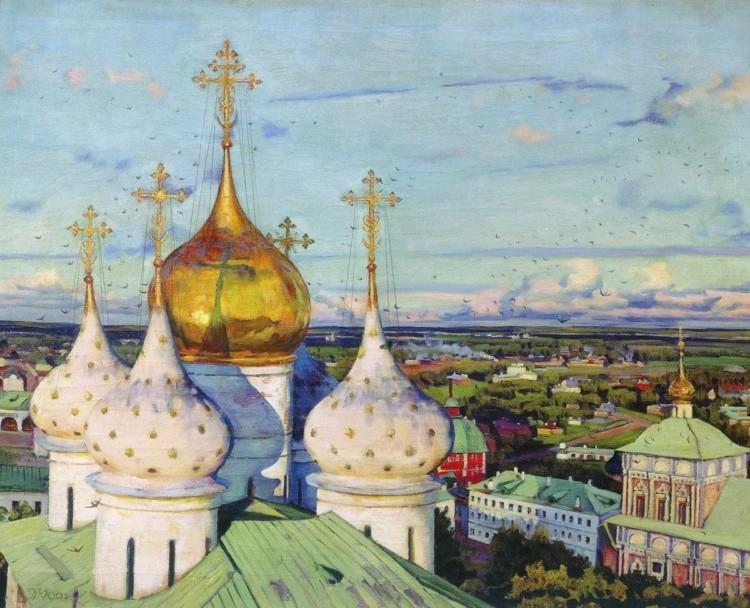 художник Константин Фёдорович Юон картины – 12