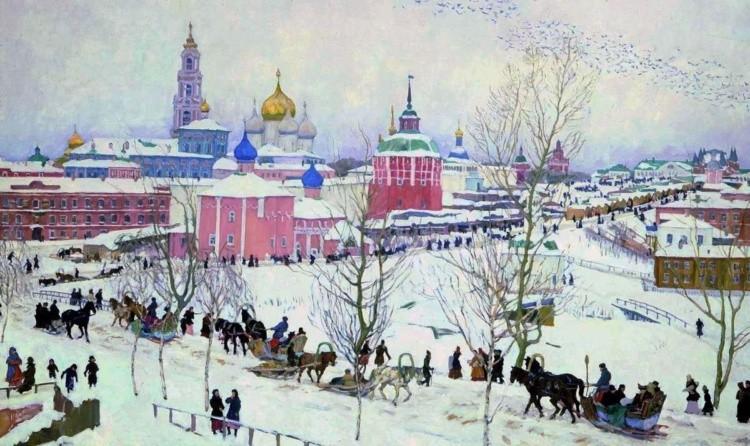 художник Константин Фёдорович Юон картины – 16