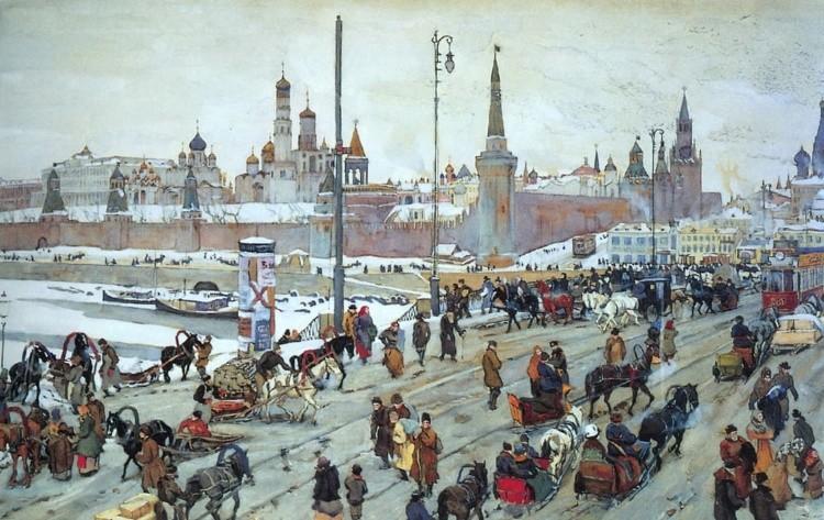 художник Константин Фёдорович Юон картины – 18