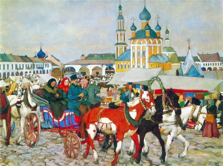 художник Константин Фёдорович Юон картины – 20
