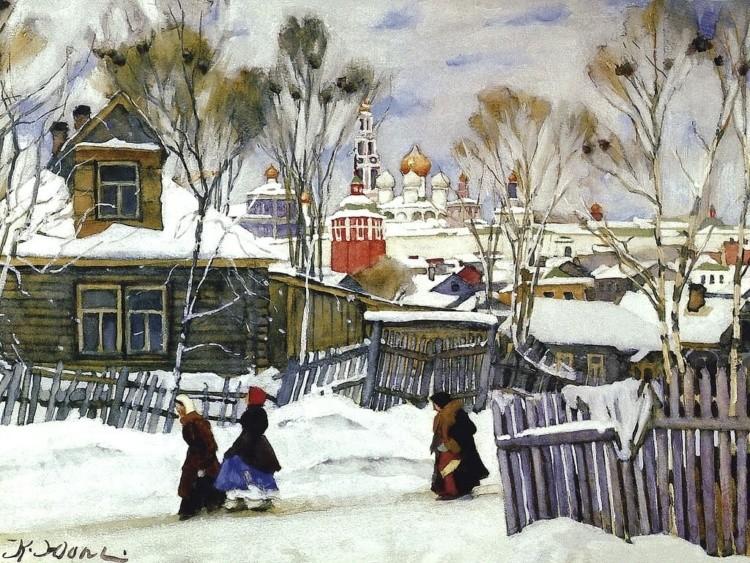художник Константин Фёдорович Юон картины – 24